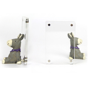 Image 2 - Besegad שקוף אקריליק פלסטיק מגנטי תמונה עבור Fujifilm Instax מיני 8 8 9 Mini8 מקרר מקרר