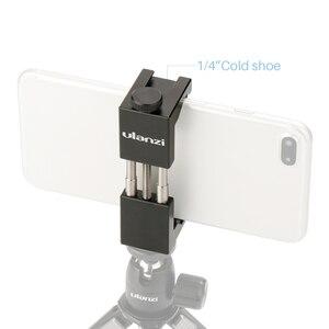 """Image 3 - Ulanzi Universal Telefon Halter 1/4 """"Schraube Montieren Höhe Einstellbar Smartphone Halter Einfache Installation Telefon Foto Werkzeug"""