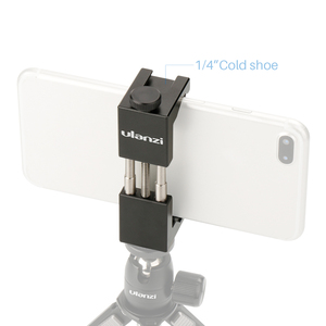 """Image 3 - Ulanzi uniwersalny uchwyt na telefon 1/4 """"śruba do mocowania wysokość regulowany uchwyt do smartfona prosta instalacja narzędzie do fotografii telefonu"""