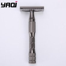 Yaqi Chrome Color Stainless Steel Handle 3 pcs Men Safety Razor
