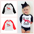 Popular Style Spring/Fall Unisex Kids Sweater 1-5T Boy and Girls T-shirt Cartoon Fox Printing Letters Oh for Shake Clothes Tops