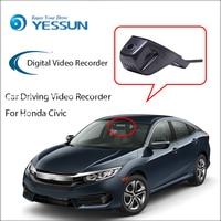 YESSUN for Honda Civi Dash Cam Novatek 96655 Sony IMX 322 WiFi 1080P Car DVR Registrator Video Recorder