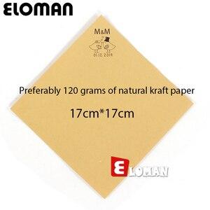 Image 3 - Conos de Confeti Boda Personalizada ELOMAN Retro Kraft Pétalo Dulces Hacer Natural para la Boda y la Decoración del Partido
