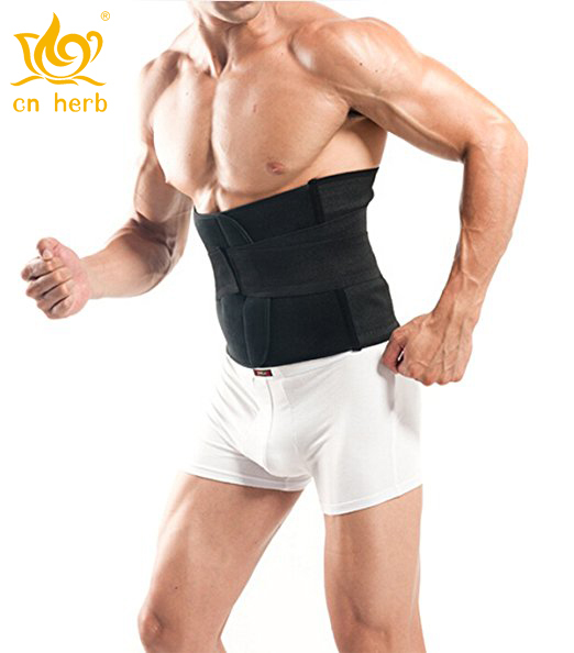 Protein Cordyceps Patch Breathable Waist Slimming Trimmer Belt Lose Tummy Abdominal Binder Band, Back Pain Support Brace Band