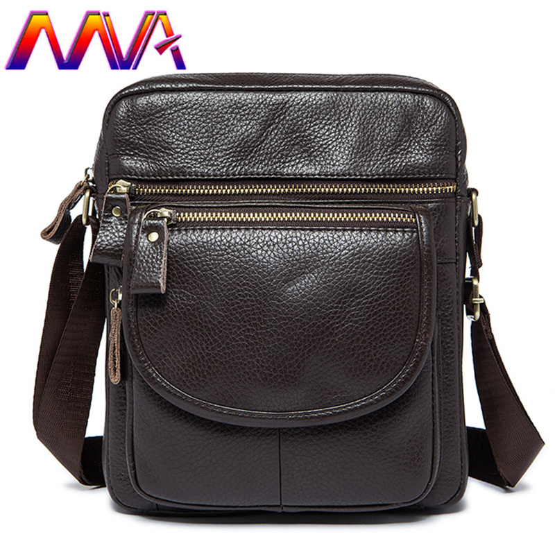 MVA Fashion vertical men shoulder bag with quality genuine leather men messenger for popular college student crossbody bags mva best quality cowhide leather men backpack for fashion travelling bag with genuine leather men backpack or crossbody bags