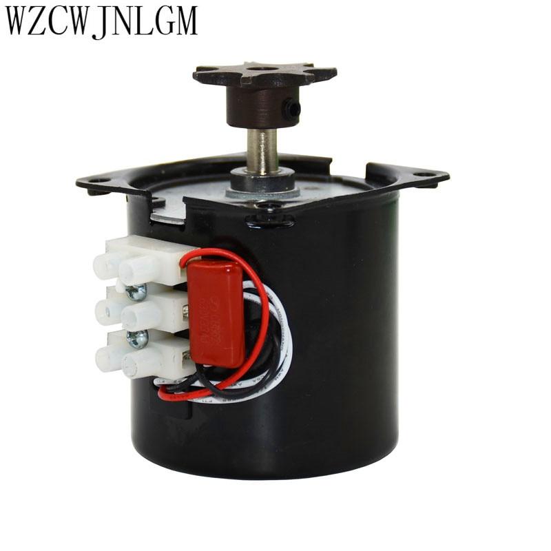 Incubator Turn The Eggs Motor Engine Reversible Geared Motor 220V Incubator Accessories For Most Incubator 2