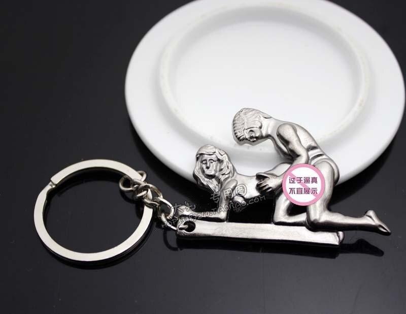 Mens-Womens Movable Make Love Keychain Sex Key Ring Fashion Key Fob Car Key  Chain for Valentine Day Wedding Gift 8 Styles 748d99ad6