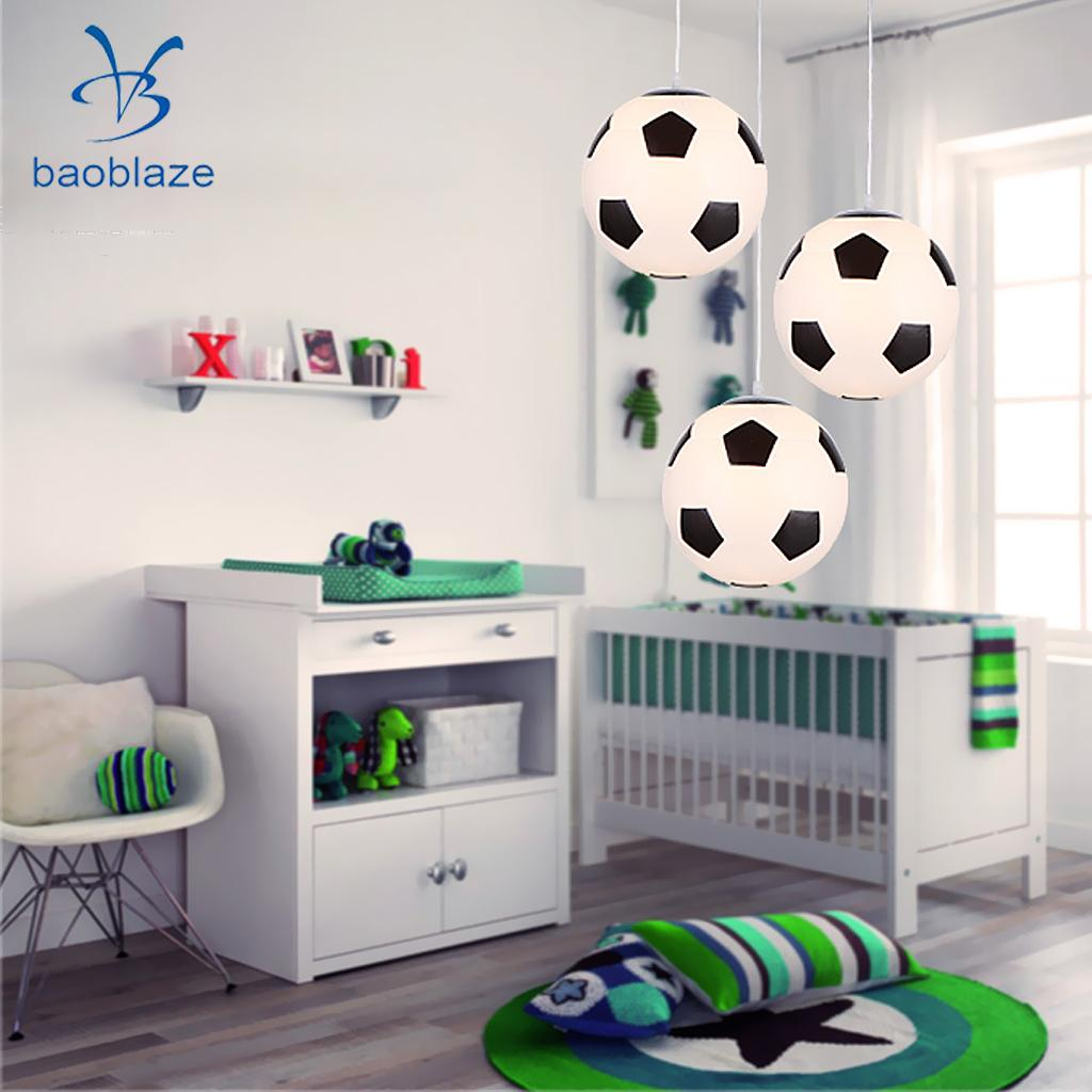 Football Chandelier Shade Lamp Cover Ceiling Lampshade Home Garden Lighting