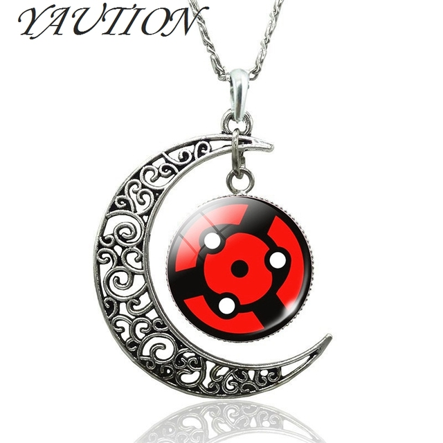 Naruto Sharingan Shippuuden Eyes Pendant Necklace