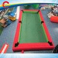 7.8*4.8 m Inflável Mesa de Bilhar, mesa de Snooker futebol, piscina inflável de futebol de mesa, mesa snookball inflável