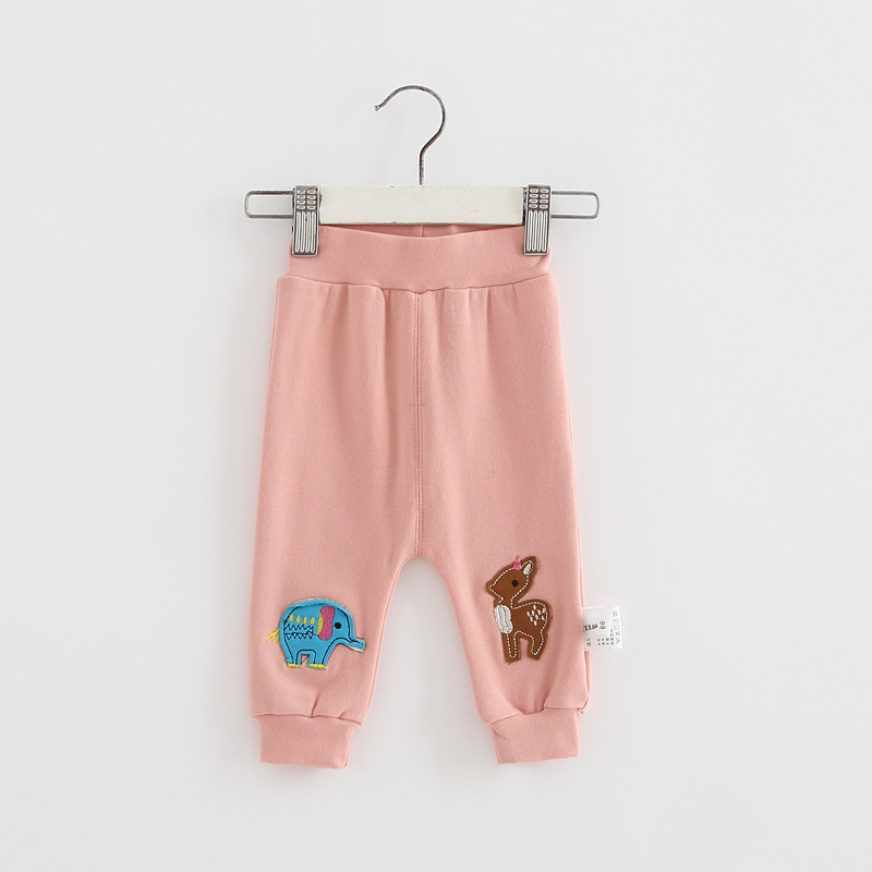 Casual Toddler Trousers Baby Bottoms Pants Infant Boys Girls Cartoon Cute elephant deer sports Pants baby clothes drop shipping (2)