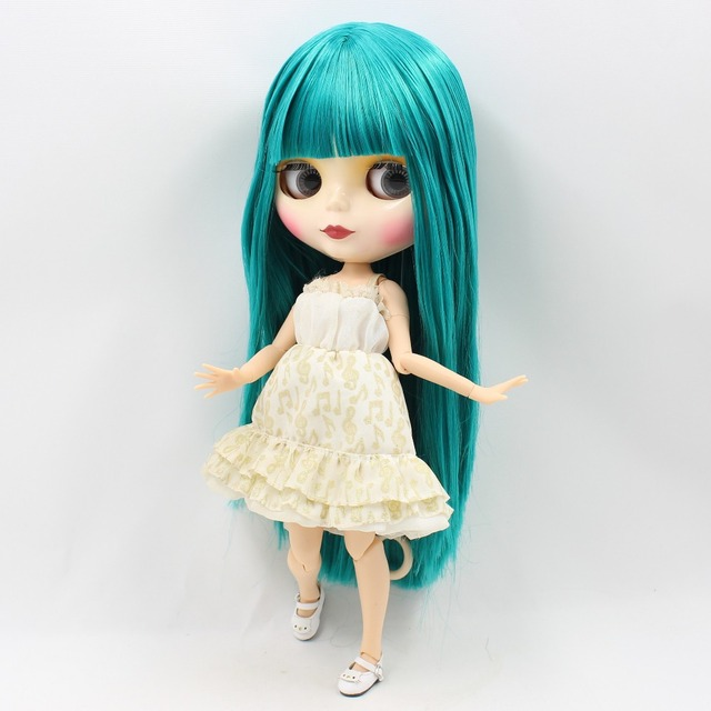 ICY Neo Blythe Doll Turquoise Hair Jointed Body