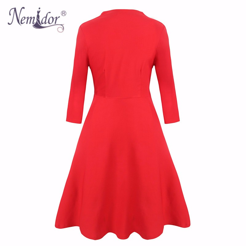 Plus size vintage dress (2)