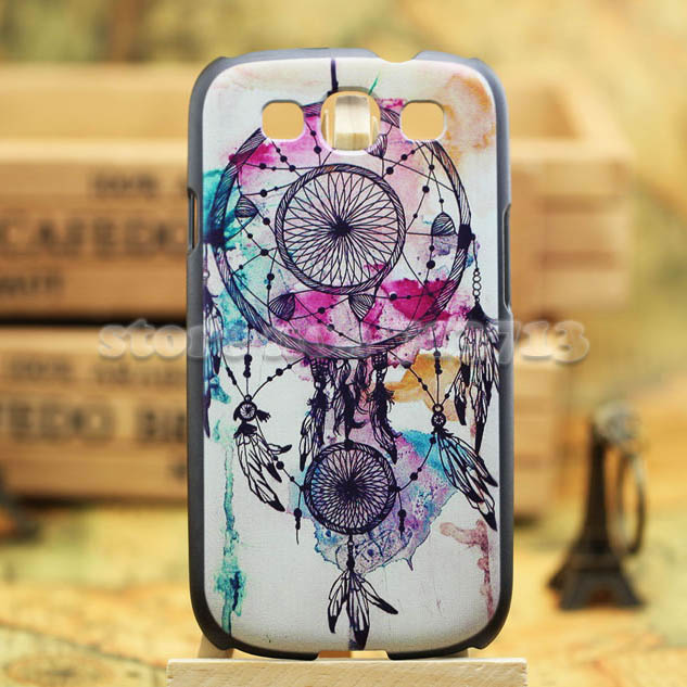 Luxury 3D painting National Style Case Samsung Galaxy S3 Back Cover 9300 hard Cases s - Cool Phone Factory store