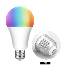 Led Smart WiFi  Bulb led Light E27 E26 B22 RGBW Color changing LED WiFi Light Lamp For Google Home Alexa Echo Remote Control wifi led bulb dimmer smart rgbw light bulbs remote control wifi light switch led color changing light bulb works with alexa
