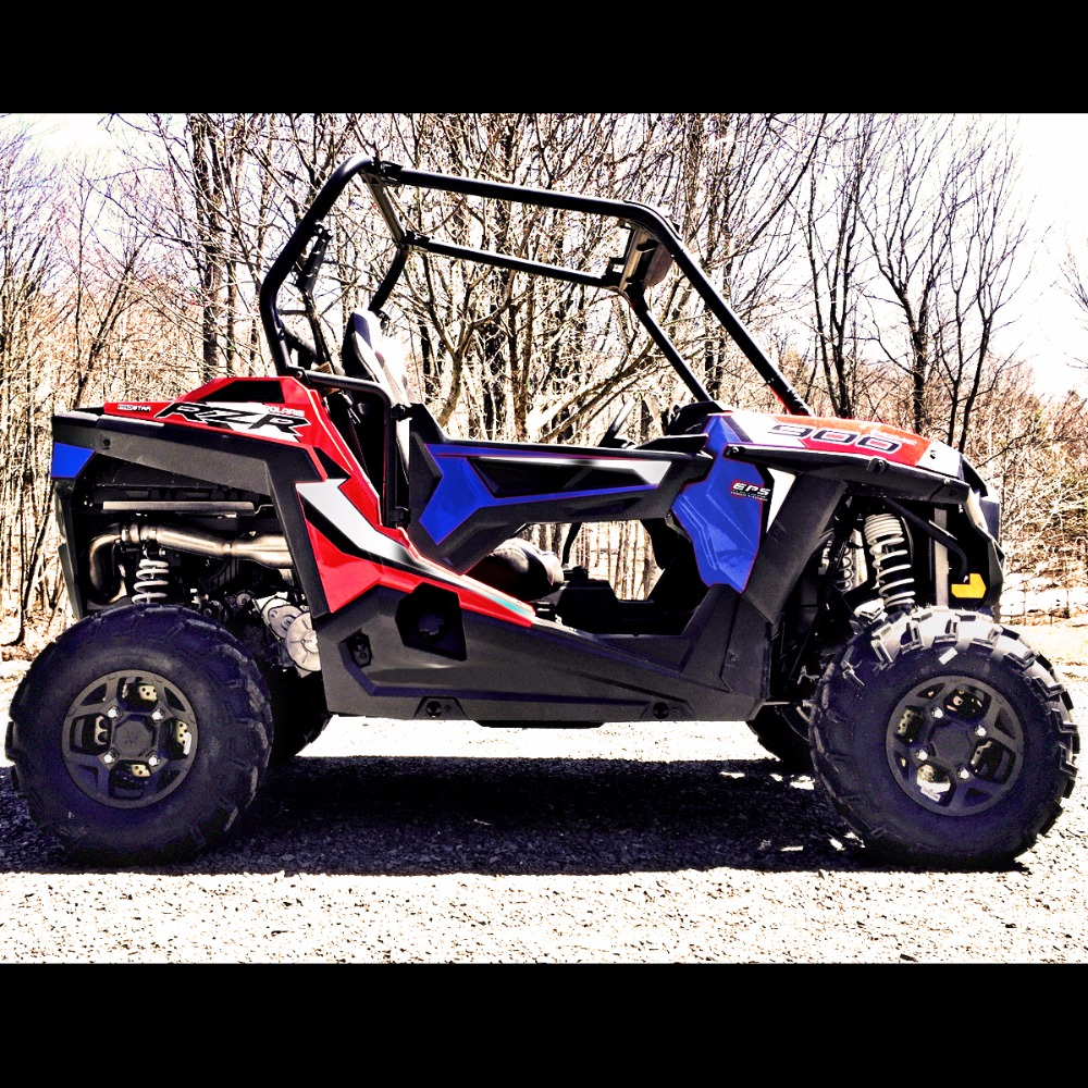 цена на Front&Rear UTV 2 STEEL LIFT KITS For Polaris RZR 900 Trail 50 Trail EPS 2015-2018