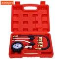 9 UNIDS motor De Gasolina De Gas Cilindro Compresor Gauge Medidor de Presión de Prueba de Compresión Probador de Fugas de Diagnóstico Post Free