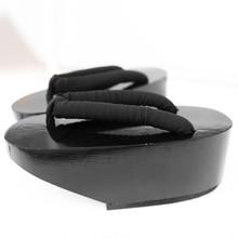 Летом Флип-Флоп сандалии Женщина Японский Гета кэндлнат забивает обувь Плоским Пятки Косплей костюм деревянные тапочки обувь для танцев