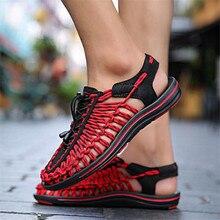 2019 new Mens Lazy Shoes Beach Sandals Fashion Casual Breathable Slippers Narrow Band men  Zapatos Calzado de hombre x38