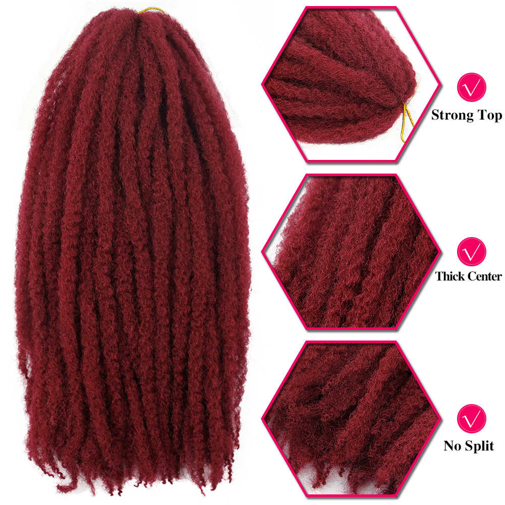 Оплетка крючком волосы Омбре плетение волосы из канекалона поддельные афро кудрявые вьющиеся волосы марли Боб