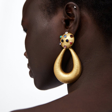 Fashion Big Earings Women 2018 CHEAP Ethnic Drop Earing F1001 Carey Earrings Bohemia Gold Statement with Rhinestones