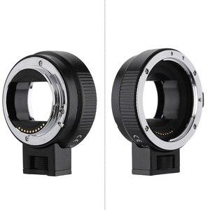 Image 4 - Andoer EF NEXII Auto Focus AF Objektiv Adapter Ring Anti Schütteln für Canon EF EF S Objektiv zu verwenden für Sony NEX E Mount Kamera Volle Rahmen