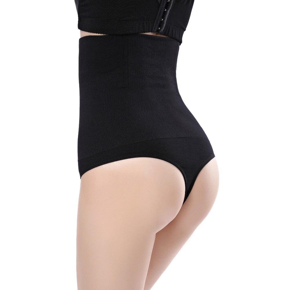aedca569df0fe Women High Waist Trainer Tummy Slimming Control Waist Cincher Body Shaper  Thong G-string Butt Lifter Seamless Panties