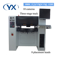 Process innovation products SMT Pick Place Machine SMD Mounting Machine With ball screw +Servo Motor
