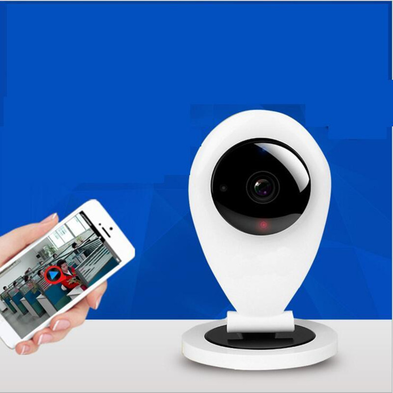 1280x720p Mobile Camera Monitor Wireless High-Definition Network Surveillance Camera Video Baby Monitors