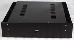 WA16 Aluminum enclosure Preamp chassis Power amplifier case/box size 430*463*113MM