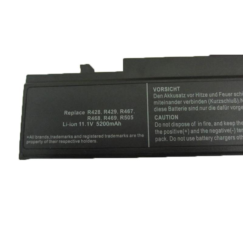 HSW laptop akkumulátor Samsung Rv408 Rv508 Rv411 Rv415 Rv511 Rv515 - Laptop kiegészítők - Fénykép 4