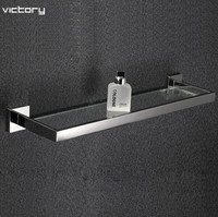Bathroom accessories Stainless steel 304 bathroom shelf rack bath shower holder bathroom basket shower room suction wall shelf