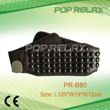 POP RELAX Health Relaxation care FIR Germanium tourmaline stone waist massage belt PR-Belt80