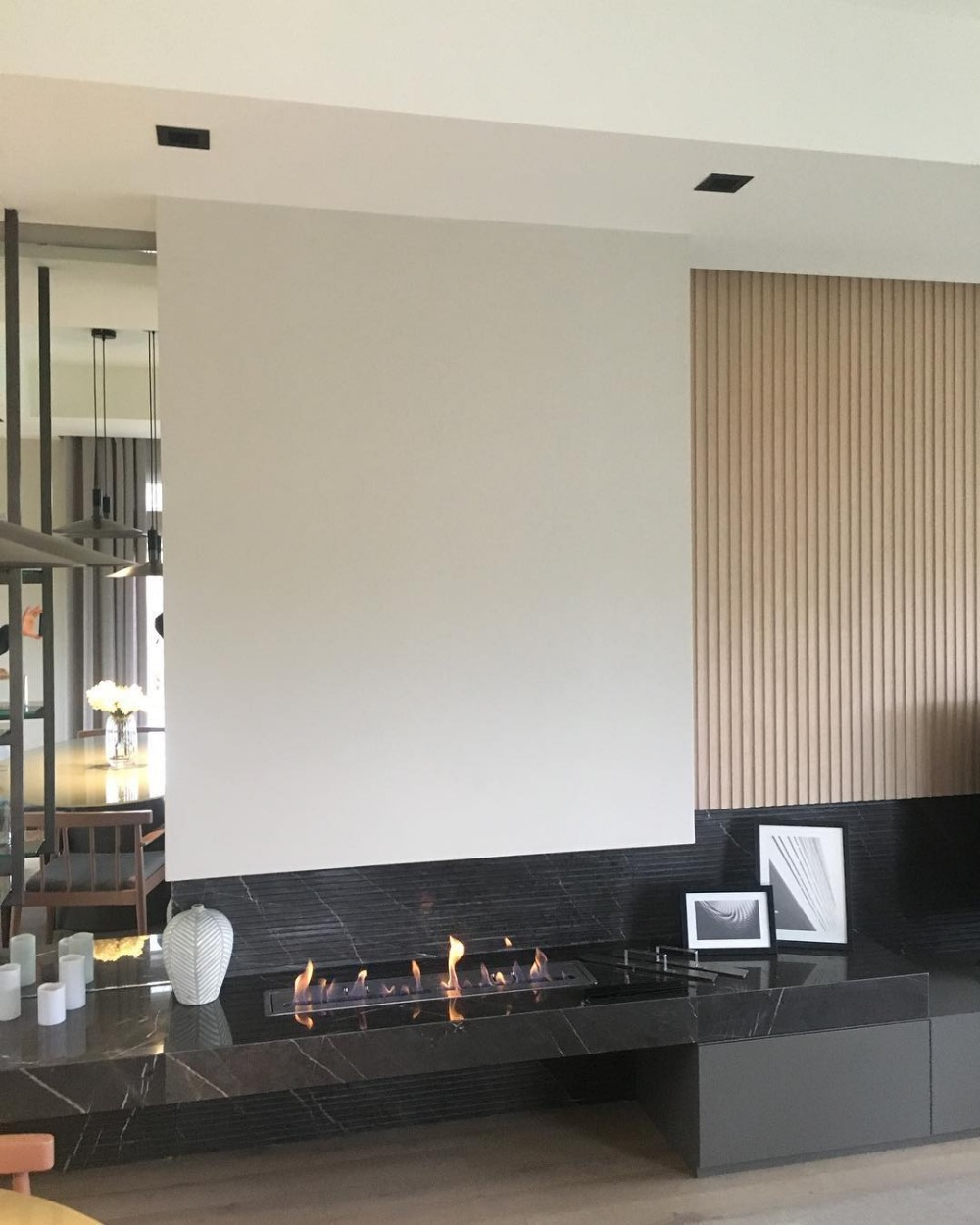 30 Inch Real Fire Indoor Intelligent Smart Automatic Bio Ethanol Burner