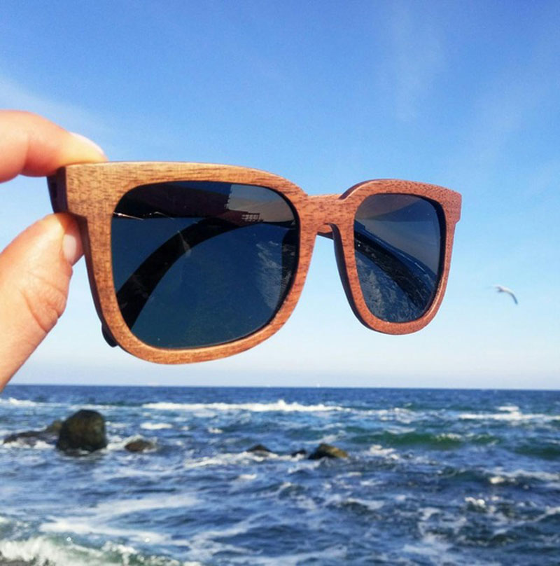 BOBO BIRD Polarized Retro Vintage Wooden Sunglasses 13