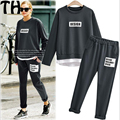 Women Casual Suit Large Size XL-5XL Lady Suit Relax Sets Women Clothes Sets Tracksuits 2 Piece Set Women Suit MK028