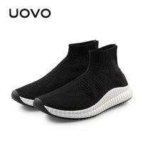 Men Shoes Durable Rubber Sole Sports Shoes Slip On Sock Design Breathable Mesh Summer Autumn Shoes For Men Eur #40 45