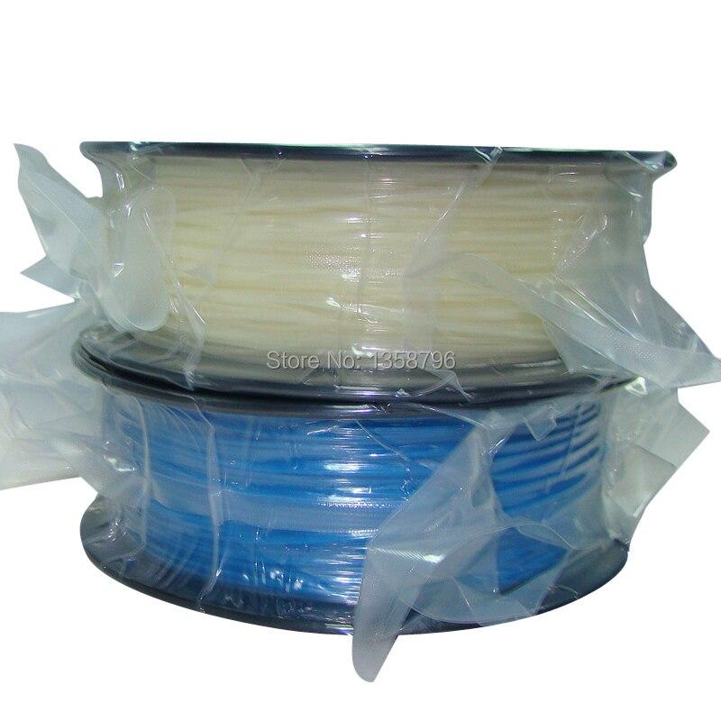 Glow in the Dark blue color 3d printer filaments PLA/ABS 1.75mm/3mm 1kg/2.2lb Plastics Consumables For MakerBot RepRap UP Mendel active contrast color letter pattern jackets in dark blue