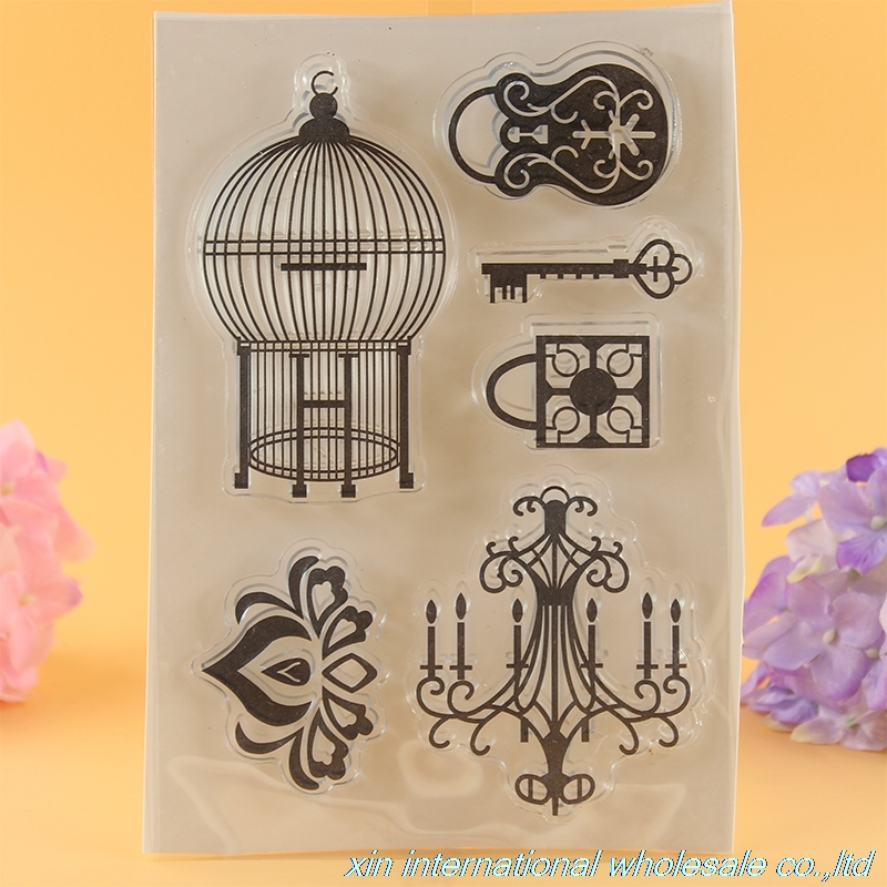 2pcs beautiful lights and Butterfly scrapbook stamps ACRYLIC VINTAGE clear stamps embossing folder beautiful darkness