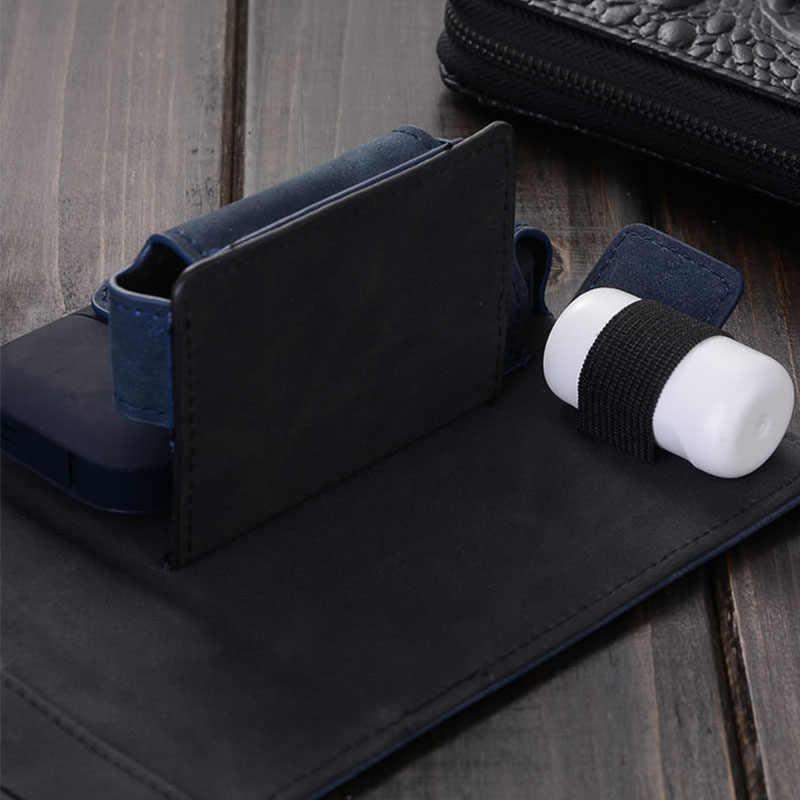 JINXINGCHENG сумка защитный чехол крышку коробки бумажник чехол для технология Iqos 2,4 плюс PU в кожаном футляре