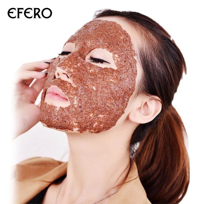 Efero 2 pçs máscara facial natural máscara de algas em pó colágeno máscara de beleza anti envelhecimento rugas branqueamento hidratante máscaras cuidados com a pele