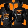 Summer autum Thin Game Team fnatic hoodies sweatshirt Women Men pullover hoody dota2 LOL CSGO FNC Jersey Hombre