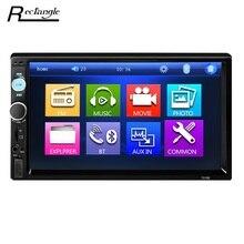 Универсальный 7010B 7-дюймовый автомобильный MP5 плеер 2Din Сенсорный экран автомобиля видео плеер аудио стерео Мультимедиа FM/MP5/USB /AUX/Bluetooth Камера