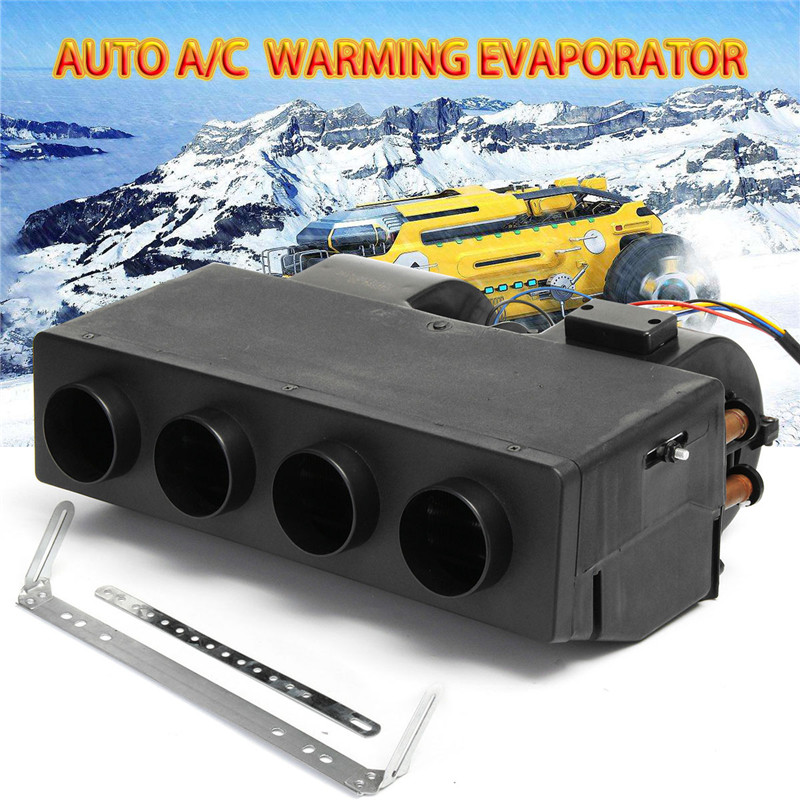 Universal 12V Car Truck Bus Heater Under Dash 12V heating the cab A/C WARMING EVAPORATOR For Trucks Boats Bus Car Heater