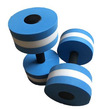 2 szt EVA Water Aquatics hantle do ćwiczeń basen aerobik ćwiczenia treningowe średnie wodne brzana trening fitness tanie i dobre opinie Gąbki typu fitness hantle Ramiona SP03322A1 0 25kg