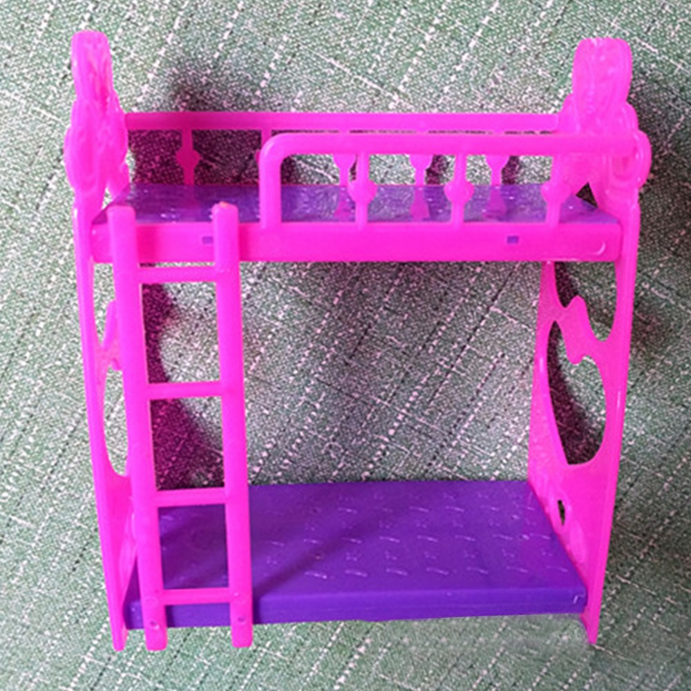 HOt Mini Dolls House Toy Darling Doll Furniture for Baby Girl Doll Toys Rocking Cradle Bed for Doll Accessories For Girl Gift plan