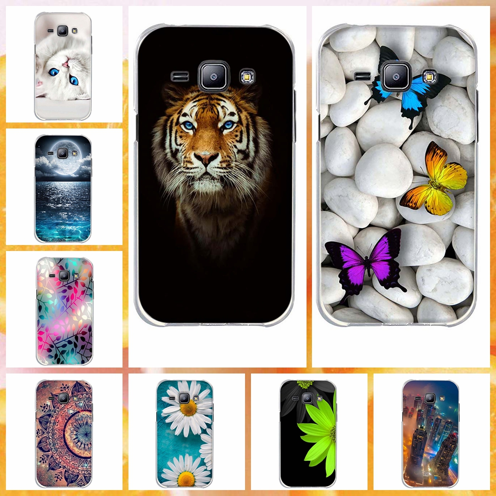 Для Coque samsung Galaxy J1 случае J100 J100f J100H 2015 модные Чехол Мягкий силиконовый чехол телефона для samsung j1 2015
