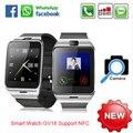 NFC Aplus GV18 Умный bluetooth часы с Камерой bluetooth наручные часы sim-карты Smartwatch для iPhone6 Телефон Android