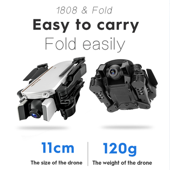 LAUMOX M66 RC Drone with 4K Camera Drone Wide Angle Optical Flow Positioning Gesture Photo Wifi FPV Foldable Quadcopter Vs E58 1