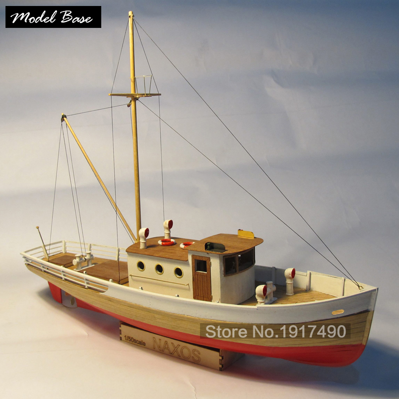 Wooden Ship Models Kits Diy Train Hobby Model-Wood-Boats 3d Laser Cut Scale 1/50 Nexus (WITH) A Wooden Fishing Boat Static Kit wooden ship model kit kids educational games boat wood models 3d laser cut adult assemble model ships scale 1 87 corsair unicorn